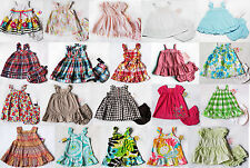 NWT Girls Summer Dress set Carters Chaps Playwear Outfit nb 3m 6m 9m 12m NEW