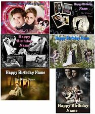TWILIGHT EDIBLE CAKE IMAGE  PARTY TOPPER  ICING SHEET  BIRTHDAY  WEDDING  SHOWER