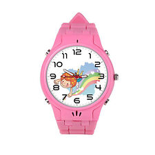 Unlock Watch Cellphone Security Monitor GPS Tracking SOS Pink Color for Girl