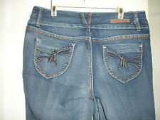 Arco Iris Low Rise Embroidered Skinny Jeans Sz 1,,5,7,9,11,13
