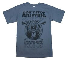 Journey Don't Stop Believing Event T-Shirt ROCK Apparel Music Free Shipping