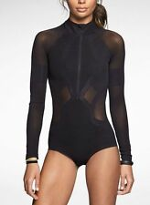 NIKE WOMENS DUAL SCULPTURE DUAL TRAINING DRI FIT BODYSUIT (620282 010) Choose SZ