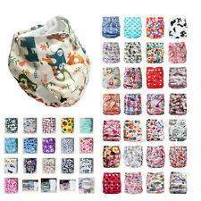 New Baby Infant Printed Cloth Diaper TPU Nappy Cover Insert - One Size fits most
