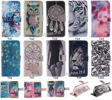 Fashion Flip Pretty Hybrid Printed Book Style PU Leather Case Cover For Samsung