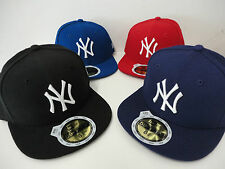 NEW ERA MLB 59FIFTY BASEBALL CAP NEW YORK YANKEES KIDS KINDER SONDERANGEBOT TOP