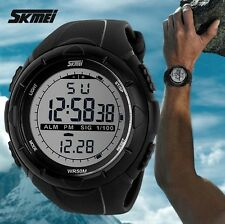 SKMEI Brand Digital Watch LED Outdoor Sports Military Waterproof Wristwatches