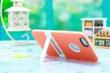 Apple iPhone 6 & 6 Plus Ultra Slim Dual Layer Orange Case Cover with Kickstand