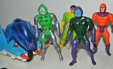 Marvel Secret Wars 1984 Action force Figures Kang Iron Man Dr Doom Spiderman
