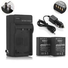 Battery + Charger for Fuji NP-W126 Fujifilm X-Pro1 X-T1 FinePix HS33EXR HS35EXR