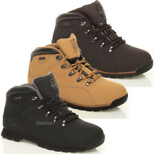 MENS LADIES GROUNDWORK SAFETY BOOTS STEEL TOE CAP WORK ANKLE LEATHER SHOES SIZE