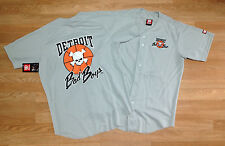 Detroit Bad Boys Limited Baseball Jersey NBA 89 90 Finals Detroit Pistons Isiah