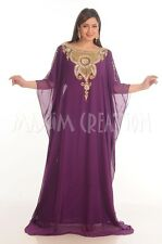 DUBAI CAFTAN JALABIYA JILBAB MODERN FANCY TAKSHITA WEDDING GOWN DRESS  4800