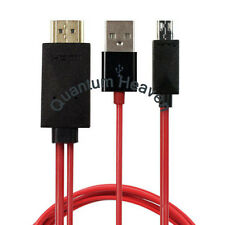 MICRO USB MHL to HDMI HDTV ADAPTER CABLE FOR LG SERIES PHONE