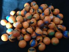 HOM Glass Marbles 14mm Clownfish Collectors or traditional game solitair