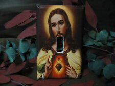 Jesus Christ Christian Light Switch Wall Plate Cover #1 - Variations Available