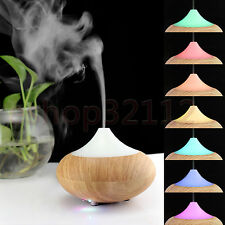 Ultrasonic Humidifier Purifier LED Electric Aromatherapy Essential oil Diffuser