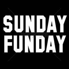 Sunday Funday Football Tailgate Party Funny Humor Fun T-Shirt Tee