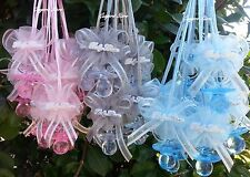 Large Pacifier Necklaces Baby Shower Game Favors Prizes Decoration U-Pick Colors