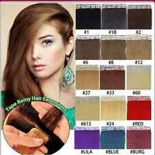 """AAAA+Skin Weft Tape in 100% Remy Human Hair Extensions 20pcs/set 16""""18""""20""""22""""24"""""""