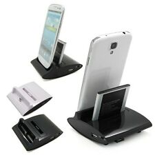 Dual Sync Battery Charger Cradle Dock Station Stand For Samsung Galaxy S3 S4 Hot