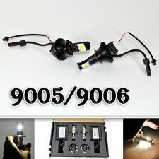 LED Car Headlight 50W Cree 9005/9006 12V 1800LM Superbright kit HID Replacement