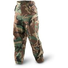 USGI BATTLE DRESS UNIFORM WOODLAND BDU PANTS TROUSERS AirSoft Hunting Ripstop