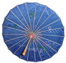 "Handmade Chinese Japanese Fabric Umbrella Parasol 32"" US seller Wedding New"