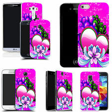 Case Cover for most popular mobile phones - Pink Sweetheart Design