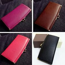 Korean New Women Purse Thin Long Section Hasp Ladies Fashion Solid Wallet