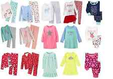NEW CARTER'S & OLD NAVY GIRLS PAJAMAS & NIGHTGOWN - Size 5 to 8 years old- Cute