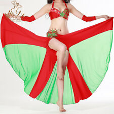2012 professional belly dance costume dress dancewear Bra Sirt Armbands S M L