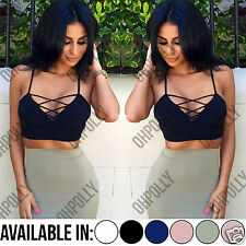 Womens Lace Up Crop Top and Midi Bodycon Bandage Skirt Two Piece Party Dress Set