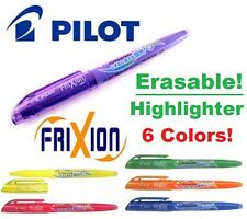 Pilot Frixion ERASABLE HIGHLIGHTERS Ink Pens CHOOSE HOW MANY+COLORS Green Purple