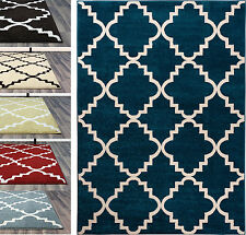 5x8 Area Rugs, Trellis Ivory Design Carpet Size:5ft.3in.X7ft.3in. Reg $199
