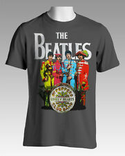NEW The Beatles Sgt. Peppers Lonely Hearts Club Band T-Shirt S M L XL Free Post