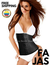 Waist Cincher Full Latex Girdle 3 hooks Colombian Faja Classic shapewear ST