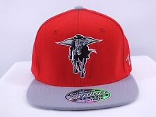 TEXAS TECH RED RAIDERS NCAA YOUTH SIZE FLEX/FITTED CAP BY ZEPHYR (D40)