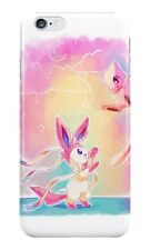 Pokemon Sylveon and Mew For iPhone 6 6 Plus Hard Case Cover