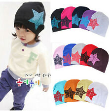 Unisex Baby Boy Girl Toddler Infant Children Cotton Soft Cute Hat Cap Beanie tgs
