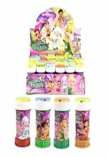 Tinkerbell bubbles, bubble tub with maze, party bag fillers, multiples of 6