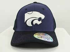 KANSAS STATE WILDCATS NCAA FLEX/FITTED CAP (XL) SIZE HAT NEW BY ZEPHYR (D43)
