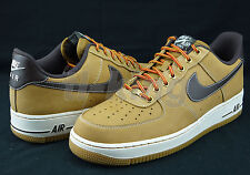 Nike Air Force 1 One 07 LV8 Low Solar Red October Suede 718152 601