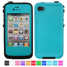 Waterproof Shockproof Dirt Snow Proof Durable Case Cover For iPhone 4 4S 4G 4GS
