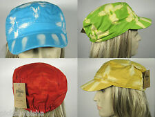 NEW Tie Dye Hat One Size Most Military Cadet Cap Hats Red Blue Yellow Cotton