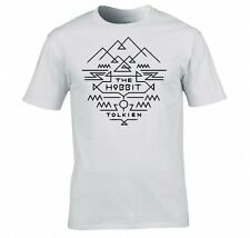 LORD OF THE RINGS/ THE HOBBIT TOLKIEN AZTEC T SHIRT