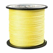 100M 300M 500M 1000M Power Braid Yellow Pro Spectra PE Test Dyneema Fishing Line
