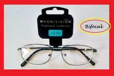 Mens Bifocal Reading Glasses with Spring Hinges Magnivision by Foster Grant