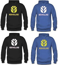 NEW HOLLAND TRACTOR FARMERS PRINTED HOODIE HOODY ALL SIZES GREAT PRICE QUALITY