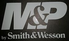 M&P Smith & Wesson Logo Vinyl Sticker Decal - CAR LAPTOP GUN RIGHTS HUNTING
