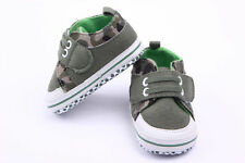 Toddle Infant baby boy girl Cotton soft-soled crib shoes sneaker size 0-18months